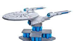 LEGO STARTREK NCC-1701 STARSHIP ENTERPRISE!!!!! I want to make one after I make a Lego TARDIS!