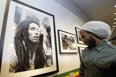 Ziggy Marley at The GRAMMY Museum's Bob Marley exhibit celebrating the coronation of  in Los Angeles, one year ago today. Damian Marley, Bob Marley, Attractions In Jamaica, Marley Family, Grammy Museum, Robert Nesta, Nesta Marley, The Wailers, My Favorite Music