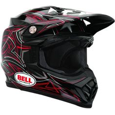 Bell Moto-9 Stunt Helmet Bell teamed up with James Bubba Stewart to create one of the most innovative dirt bike helmets available. Starting from sc...