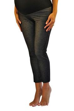 3b946325cb958 Our maternity jeggings are the best thing invented since an epidural.  Features a panel waist, and ankle length cut all on a lightweight and  stretchy jegging ...