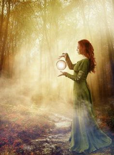 So mystic...I want to wonder in this forest and witness her magic ^_^ #Witchery