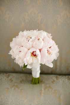 in luv with peony bouquets