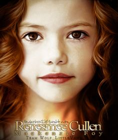 So ready for Breaking Dawn: Part 2! This is Bella & Edward's little girl!