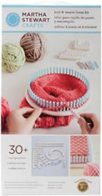 Knitting Boards and Looms 113343: Martha Stewart Crafts Knit And Weave Loom- Knitting Crochet Notions -> BUY IT NOW ONLY: $46.39 on eBay!