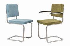 Bauhaus Stuhl Preston Cord Bezug  Freischwinger Stuhl im klassischen Bauhausdesign, Modell Preston mit Cord Bezug.