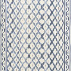 Mark Sikes Collection Santa Monica Ikat fabric in Indigo (176502). Shop Schumacher and 1,000s of designer fabric. First quality and prices guaranteed.