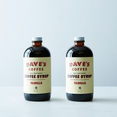 Vanilla Coffee Syrup (2 Bottles) on Provisions by Food52