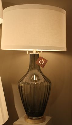 High Point Fall 2011-This Mottega allegra lamp in smoke, I like it in blue
