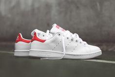ADIDAS ORIGINALS STAN SMITH OG (WHITE/RED)   Sneaker Freaker