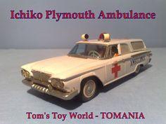 ICHIKO PLYMOUTH AMBULANCE Tom's TOy World TOMANIA