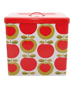 Another great find on #zulily! Apple Bread Box #zulilyfinds