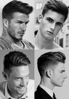 Homem No Espelho - Corte de cabelo masculino degradê - Cortes Taper Fade Trendy Mens Hairstyles, Hairstyles Haircuts, Short Hair For Boys, Short Hair Cuts, Barber Haircuts, Haircuts For Men, Medium Hair Styles, Curly Hair Styles, Beard Styles