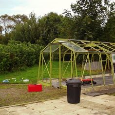 A donated greenhouse.