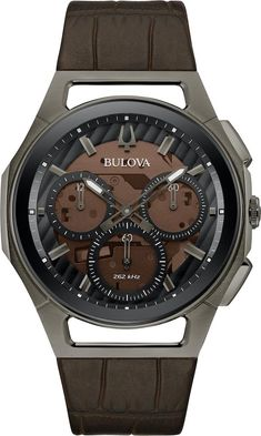 … Sport Watches, Watches For Men, Rolex, Lacoste, Watch Cufflinks, Brown Leather Strap Watch, Bulova Watches, Womens Jewelry Rings, Watch Brands