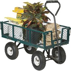 steel yard garden carts