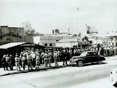 Exterior of the Hollywood Canteen 1944