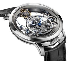 Arnold and Son Time Pyramid Watch Now In Steel