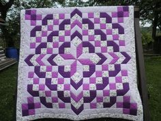 Image result for modern 2 colour quilt