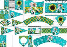 Frozen Fever: Imprimibles Gratis para Fiestas. | Ideas y material gratis para fiestas y celebraciones Oh My Fiesta!