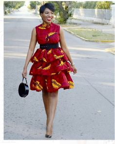 100 Ankara Short Gown Styles Designs 2019 (Updated Weekly) T. - 100 Ankara Short Gown Styles Designs 2019 (Updated Weekly) Three layers Ankara Gown Source by - African Fashion Ankara, Latest African Fashion Dresses, African Print Fashion, Africa Fashion, Ankara Short Gown Styles, Short African Dresses, African Print Dresses, Ankara Gowns, Latest Ankara Styles