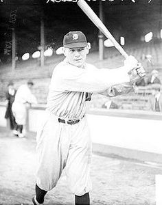My great grandfather, Harry Heilmann played for the Detroit Tigers and Cincinnati Reds. He is one of the last two American League players to hit .400, and was the first player to hit a home run in every major league ballpark that existed during his career.