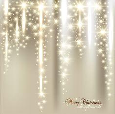 vector set of sparkling christmas backgrounds art