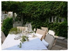 Shabby Landhaus: Die vielen Gesichter meiner Terrasse.....