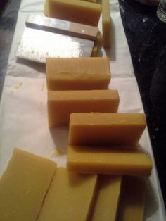 I made this cedar wood soap for men/shave soap. Cold process method. Please see the link for the recipe. (This photo is proprietary and does not belong to the web resource)