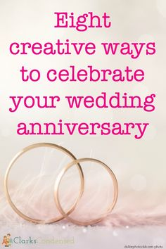 Here are 8 creative and inexpensive anniversary celebration ideas to make your wedding anniversary a little more special