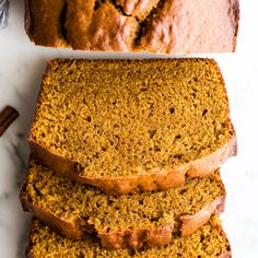 This Is The Best Pumpkin Bread Recipe It's Easy No Mixer, Dense and Moist With A Perfect Crumb, Loaded With Fall Spices And Just The Right Amount Of Sweetness. Utilize Fresh Or Canned Pumpkin Fresh Pumpkin Recipes, Best Pumpkin Bread Recipe, Vegan Pumpkin Bread, Pumpkin Banana Bread, Fall Recipes, Pumpkin Bread Recipe Made With Butter, Betty Crocker Pumpkin Bread Recipe, Starbucks Pumpkin Bread, Zucchini Bread