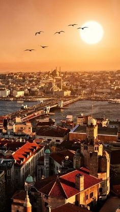 Istanbul, Turkey  Beautiful picture. Loved that city. Can't want to go back