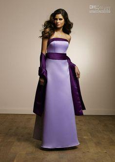 LILAC / PURPLE BRIDESMAID DRESS