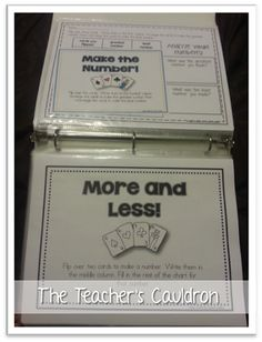 "Tons ""Math with a Deck of Cards"" activities and how to store them!"