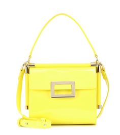 mytheresa.com - Borsa a tracolla Miss Viv  Carré Mini in vernice - Luxury 12a1a3a84b4