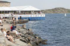 Wie gesagt, großartige Aussicht beim Stena Match Cup Sweden 2015 und das nicht nur von unserer Terrasse aus!
