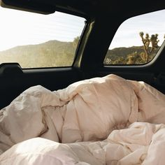 sleeping in the car / photo by Hannah Morgan Robinson