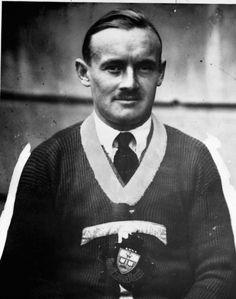 Conn Smythe on Nov. 12, 1931, opening night for hockey at Maple Leaf Gardens. (Turofsky)