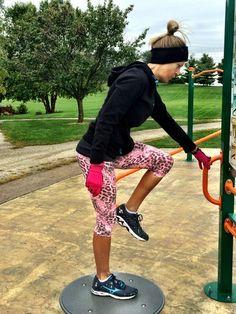 Pink Panther print capris - printed yoga pants, capris, shorts, and leggings.  www.kastfitnesswear.com $70.00
