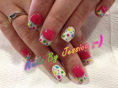 Nails By Jessica ;-) by Squirt0283 - Nail Art Gallery nailartgallery.nailsmag.com by Nails Magazine www.nailsmag.com #nailart