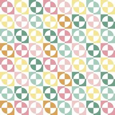 springcolors fabric, wallpaper, gift wrap, and decals - Spoonflower