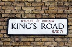 King's Road My Grandfather lived here, I adored visiting him, we would go for rides in his Jenson Interceptor around the streets of london always with a fly drive past Buckingham palace & home again to Draycott place just off the kings road