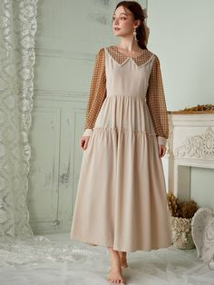 Old Fashion Dresses, Modesty Fashion, Korean Fashion Dress, Modest Dresses, Simple Dresses, Classy Outfits, Pretty Outfits, Western Dresses For Girl, Fashion Clothes