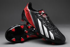 adidas Football Boots - adidas adizero F50 TRX FG - Firm Ground - Soccer Cleats - Black-Running White-Infrared
