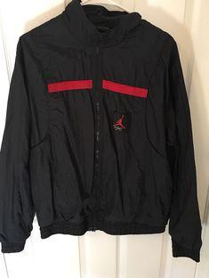 ced9757a903c7f Vintage 90s Nike Air Jordan Windbreaker Jacket Vest Rare Bred Mens LARGE  SUPREME  fashion  clothing  shoes  accessories  mensclothing  coatsjackets  (ebay ...