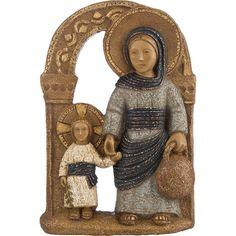 Vierge à l'Enfant de Nazareth Artisanat des Monastères des PS de Bethléem