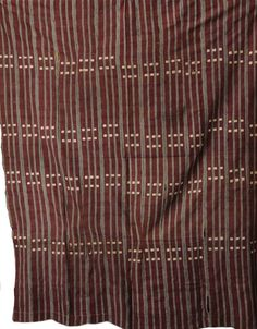Africa   Woven textile from Ghana
