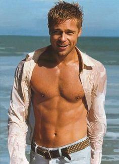 When Brad Pitt was attractive.