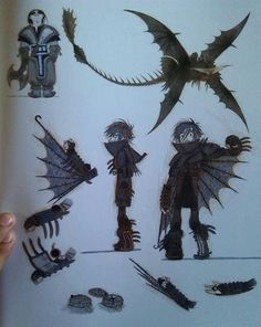 Httyd2 Hiccup concept art!
