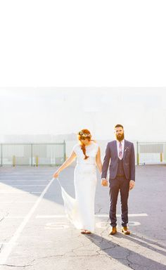 Ace Hotel downtown LA wedding   Real Weddings and Parties   100 Layer Cake