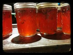 I think muscadine jelly is my favorite...with peppers or without!